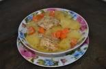 Курица с овощами и майонезом в духовке