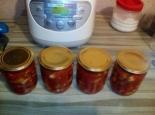 Лечо из огурцов с томатным соком на зиму