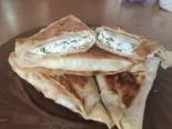 Ленивые хачапури из лаваша с творогом и сыром
