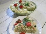 Макароны с яйцом и сыром на сковороде
