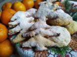 Мандариновое песочное печенье