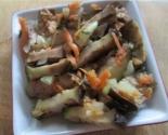 Маринованные баклажаны с чесноком и морковью