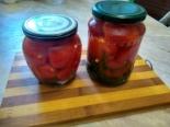 Маринованные помидоры с луком по-мордовски
