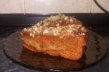 Простой медовый торт с вареньем без крема