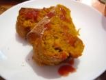 Морковный кекс с корицей и имбирем
