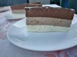 """Муссовый торт """"Три шоколада"""" без выпечки"""