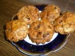 Низкокалорийные кексы из овсянки без сахара