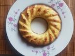 Низкокалорийный бананово-яблочный кекс