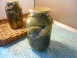 Огурцы с горчицей и чесноком на зиму (с аспирином и уксусом)