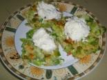 Оладьи из кабачков и картофеля с соусом Тартар