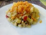 Овощная запеканка с кабачками для ребенка 1,5 года