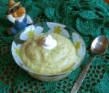 Овощное пюре из кабачков, картошки и курицы для детей от 8 месяцев