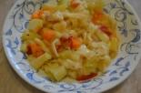 Овощной суп «Минестроне» с кабачками и макаронами