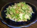 ПП салат с тунцом и гранолой