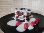 ПП шоколадные оладьи на растительном молоке без сахара
