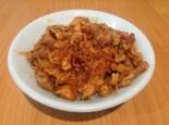 Паста с индейкой в томатном соусе