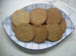 Печенье из пшеничных отрубей с мукой