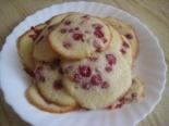 Печенье с ягодами (красной смородиной)