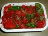 Запеченный перец в маринаде