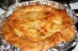 Пирог с курицей и картошкой на дрожжевом тесте