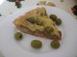 Пирог с печеночным паштетом на кефире