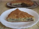 Пирог со шпротами и картошкой