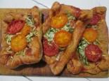 Пицца на картофельном тесте с фаршем
