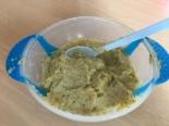 Пюре из индейки с овощами и булгуром для ребенка от 1 года
