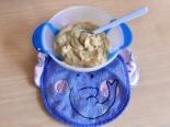 Пюре из куриной печени, картошки и репы детям до 1 года