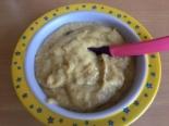 Пюре из телятины с овощами и черным хлебом для грудничка