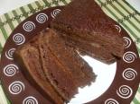 Простой шоколадный торт на сметане со сгущенкой