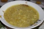 Простой суп с яйцом и вермишелью