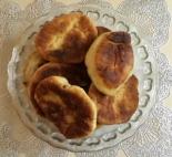 Пирожки жареные с картошкой и мясом