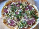 Пицца на сковороде в домашних условиях