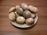 Мраморные кексы на кефире