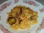 Рис с уткой и овощами по-пекински