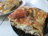 Рыбная лазанья из лаваша