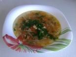 Рыбный суп из консервы горбуши