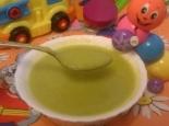 Рыбный суп-пюре из минтая для ребенка до 1 года