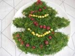 """Салат """"Елка"""" с укропом на Новый год"""