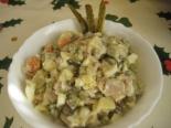 Салат Оливье с курицей: рецепт с фото