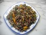 """Салат """"Тбилиси"""" с говядиной и фасолью"""