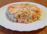 Салат из репы с морковью
