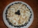 Салат с курицей, черносливом и орехами слоями на праздник