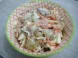 Салат с маринованными грибами и корейской морковью