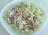 Салат со свининой и пекинской капустой