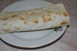 Шаурма с 2-мя видами колбасы, сыром и салатом