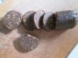 Шоколадная колбаска из пряников