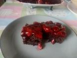 Шоколадный пирог с вишней (без яиц и молока)