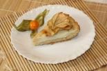Шведский яблочный торт с заварным кремом